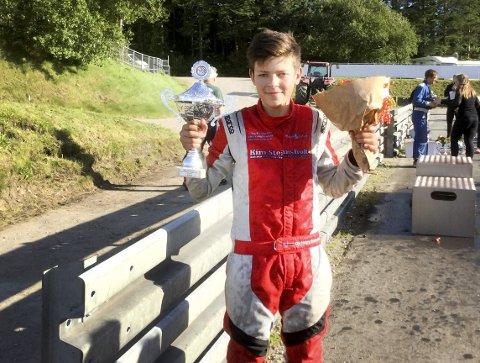 MER Å FEIRE?: Ole Henry Steinsholt fra NMK Grenland gir seg med crosskart. Nå er det rallycross som gjelder - først i England og Irland. FOTO: PRIVAT