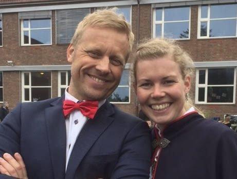Fjellbryllup. Camilla Roås Mikalsen og Espen Tiljar Reitehaug gifter seg.