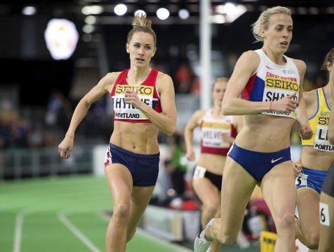 OL-DRØM: Hedda Hynne håper å få sjansen på 800 meter under OL i Rio denne sommeren. Her fra innendørs-VM i USA tidligere i år. Foto: Jessica Gow/TT / NTB scanpix