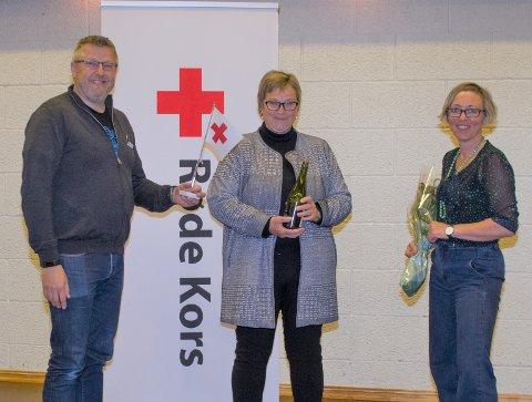 Distriktsleder: Øystein Valde fra Rauma Røde Kors, Leder i Molde Røde Kors Susanne Krohm Lode, Leder Ragnhild Sofie Berthinussen