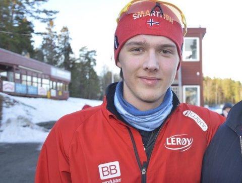 ENNÅ JUNIOR: Allan Dahl Johansson kan komme til å gå seniorverdenscup denne sesongen, etter sterke rsultater allerede.