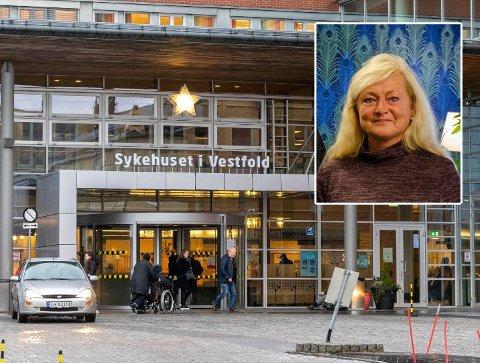 Tønsberg-ordfører Anne Rygh Pedersen er bekymret for konsekvensene for helsetilbudet til Vestfold-befolkningen.