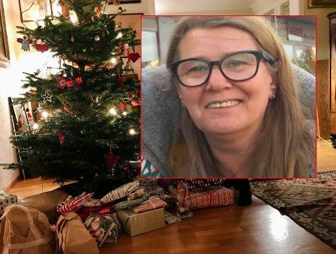 ALENEJUL? Torhild Rusk-Stenlund  forbereder seg og familien på en helt annerledes julefeiring.