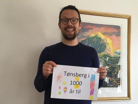 KLIMAKONFERANSE: Benjamin Rød vant konkurransen om hva klimakonferansen i Tønsberg skal hete.