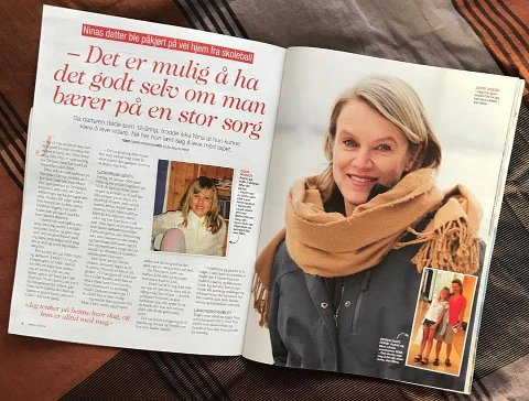 Åpen: Nina Sandberg er åpen i ukens utgave av Allers.