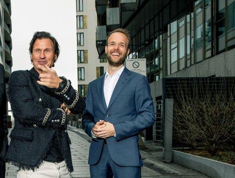 Uvanlig manøver: Å starte selskap sammen ble løsningen for Petter Stordalen og kommunikasjonsselskapet Kruse Larsen, der Marius Parmann er partner.