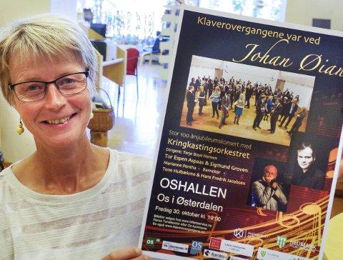 ØIAN-KONSERT: KORK og flere andre spiller, og kultursjef Anne Kristin Rødal forteller at billetter er i salg.  Foto: Tonje H. Løkken