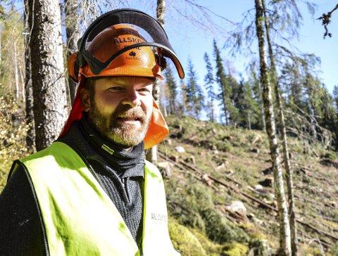 SKOGBRUKSLEDER: Ola Nygård er skogbruksleder for kommunen Røros, Holtålen og Midtre-Gauldal i Allskog.
