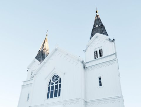 REKORDRVALG: Aldri har så mange av Kirkens medlemmer stemt ved kirkevalget. Det skaper historie. Illustrasjonsfoto av Frydendal kirke.