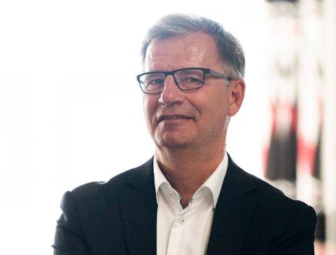 GLAD FOR AT DET GÅR MOT LYSERE TIDER: Helsebyråd Robert Steen er glad for at Oslo kanskje kan åpne opp full og helt fredag. Foto: Terje Pedersen / NTB