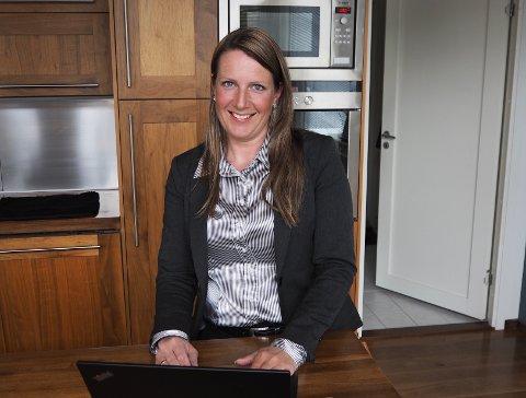 Siri Øksnes gler seg til å starte i jobben som rektor.
