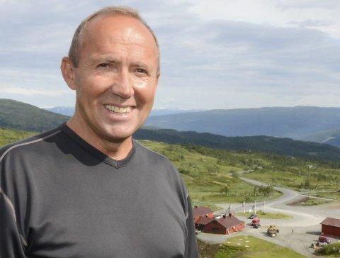 John-Helge Vang fant ingen spor som beviste at bjørnen hadde vært der. Bildet ble tatt ved en tidligere anledning.