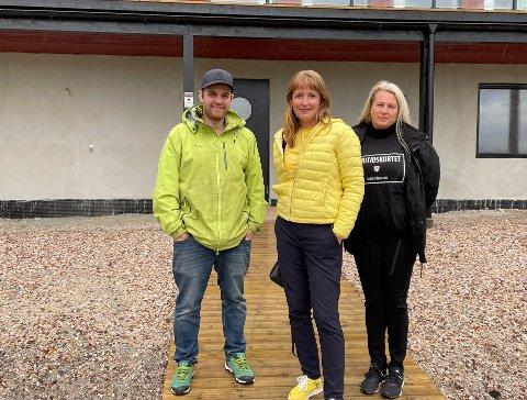 Bekymringsverdig: Audun Krarup Jonassen, Ingelin Noresjø og Gro-Anita Olsen deler samme syn på ordningen som de håper skal bli rullet ut i alle landets kommuner: - Det vil hjelpe svært mange, sier trioen.