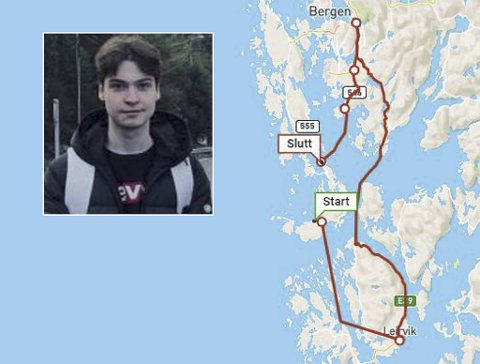 Heike Haukanes Zetterstrøm ble overrasket da han så hvor lang tid bussturen tok.