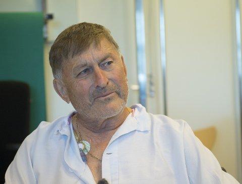 Jurgen Klaus falt 15 til 20 meter ned i en sprekk på Folgefonna, og mistet nesten håpet om å få møte familien sin igjen.