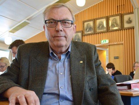 OPPRØRT: Bård Sverre Fossen synes ikke grøftegraving er et tiltak som bør dekkes med penger fra eiendomsskatten