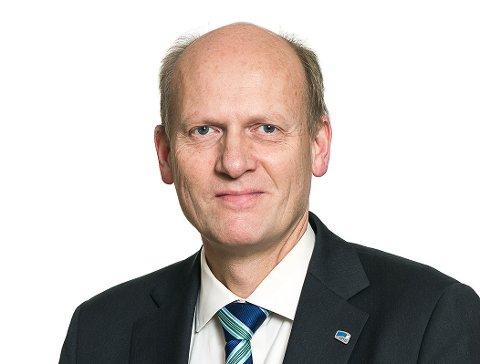 Anders B. Werp blir Modum Bads nye direktør fra 4. mai. Foto: Olav Heggø.