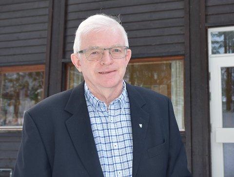 ØNSKER Å BEVILGE PENGER: Ordfører Knut Martin Glesne ønsker å bevilge penger for å unngå mange av tiltakene som er skissert for skole og barnehager.