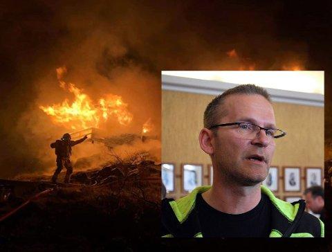 Tillitsvalgt Fredrik Helgesen sier han er glad for at man klarte å finne en løsning på denne saken. som har gått utover motivasjonen til de ansatte i Nordkapp Brann- og redning.