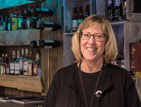 FOR TIDLEG: Fungerande dagleg leiar Lisa Giil på Hotel Sognefjord i Leirvik seier at det er for tidleg å seie om situasjonen på Havyard vil påverke hotellet.