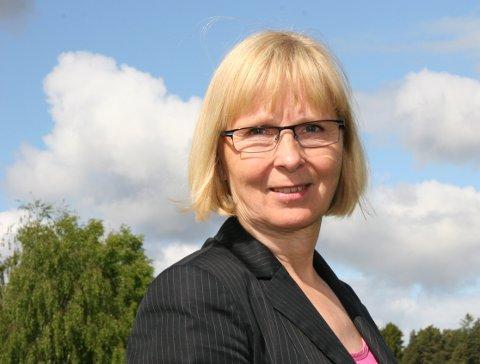 KARANTENE: Klinikksjef Irene Dahl Andersen opplyser at det per i dag er 21 medarbeidere i karantene ved psykiatrisk avdeling ved Sykehuset Østfold Kalnes.