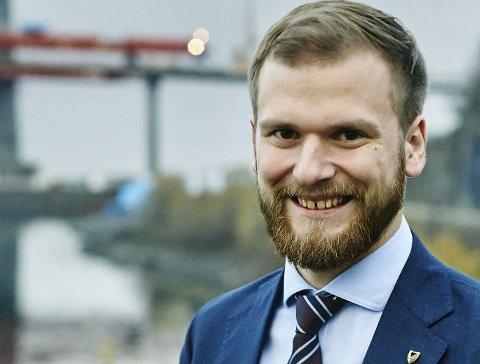 OPTIMIST: Fylkesråd for samferdsel, Wilfred Nordlund, har tatt opp saken på eget initiativ. Foto: Kristoffer Klem Bergersen