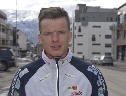 Skiløper Vegard Johnsen (23).