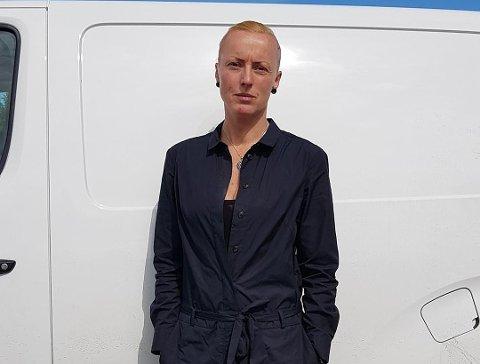 FORBANNET: Kathrine Falck er forbannet på både tyven og Fjellinjen Foto: Privat