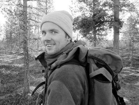 OMKOM: Mads Håvard Larsen (26) omkom i en jaktulykke i Balsfjord i februar 2017.