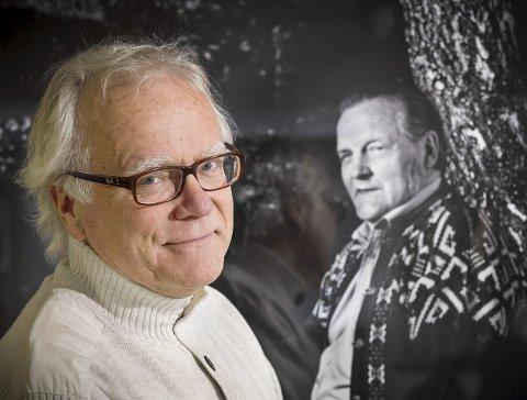 KLAPPET OG KLART: Sverre Eier i Børli-selskapet kan invitere til en mangfoldig 100-årsfeiring av Hans Børli.
