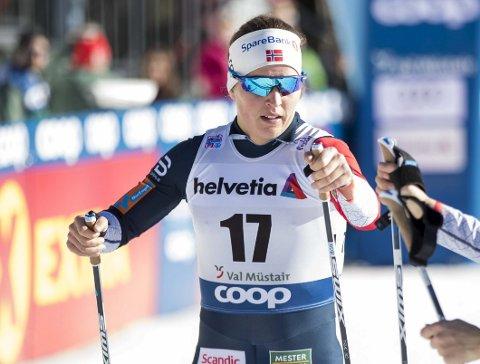 IMPONERTE: Lotta Udnes Weng gikk inn til en flott sjetteplass i Tour de Ski tirsdag. FOTO: TERJE PEDERSEN (SCANPIX)