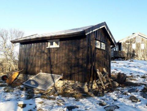 Uthuset ved Eldåbu i Rondane, som DNT vil utvide.
