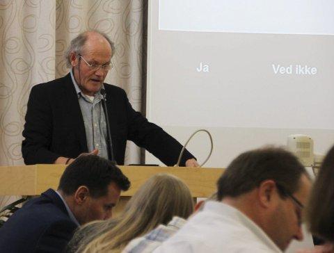FIKK MEDHOLD: Stein Buan (R) foreslo å bevare stabburet og lekeapparater tilknyttet Malmgruben barnehage.