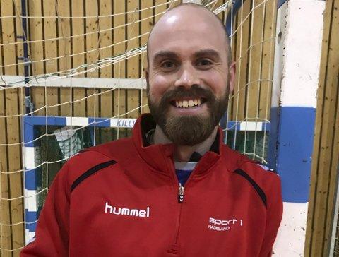 SJEFEN: Espen Fjeld er ansatt som ny trener for Lunners håndballjenter i 3. divisjon.