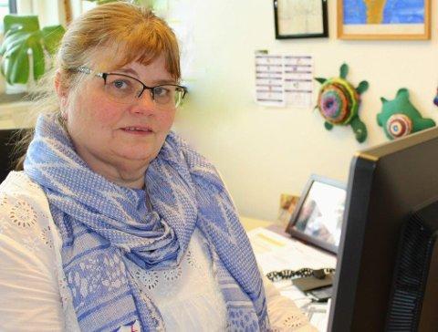 MANGE SAKER: Leder Grete Stabekk forteller at det behandles stadig flere saker i Konfliktrådet i Oppland.