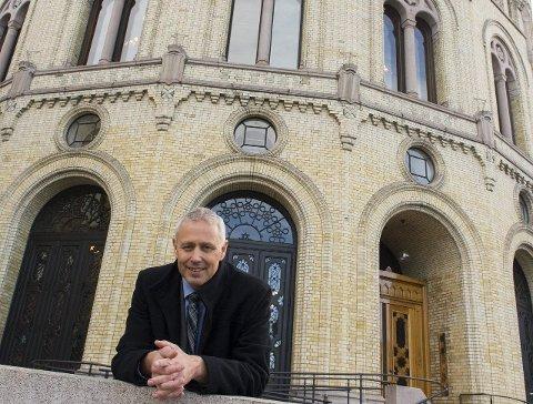 USYNLIG STORTINGSREPRESENTANT: Eirik Milde har hatt fire usynlige år på Stortinget og har også vært fraværende i valgkampen. Arkivfoto