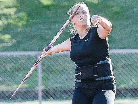 TIL EM?: Emilie Ingerø håper på plass i U23-EM, men mangler fortsatt én meter på å klare kravet.