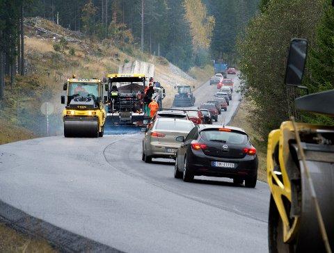 ASFALT: Nær 54 kilometer fylkesveg skal få ny