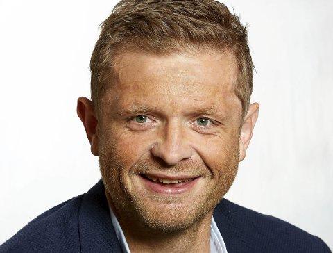 OPPVEKSTSJEF: Morten Vevatne.  Foto: Fotograf Øygarden