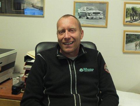 TOK OVER: Magne Jørgensen er nå daglig leder og eier av Kobber- og blikkenslagerfirmaet T. H. Brynjelsen Han kjøpte firmaet for tre år siden. - Det er ingen grunn til å endre et godt innarbeidet firmanavn, sier Jørgensen.