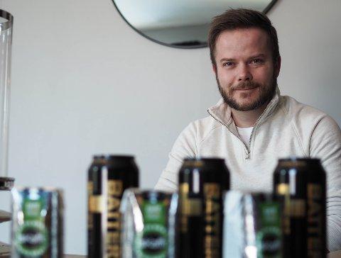 FIKK NOK: Daniel Hinderlid fant ut at nok er nok etter åtte år med daglig inntak av 1,5 liter energidrikke og 1 liter iskaffe.