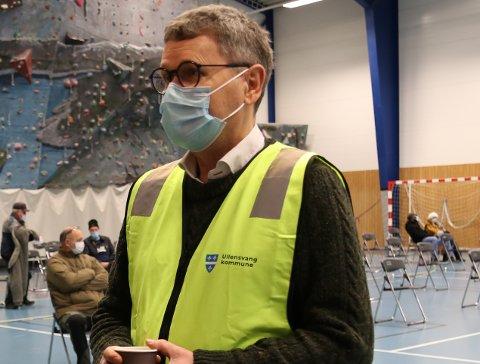 Smittevernlege Steinar Jacobsen seier det er overveldande sannsyn om at smitten i Ullensvang  er den som er kjend som britisk mutert virus. Arkivfoto: Synnøve Nyheim