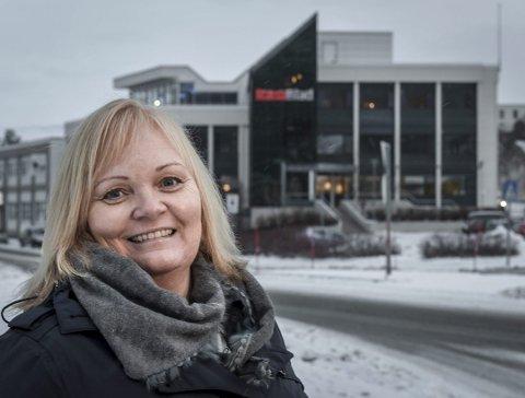 Sjefredaktør i Rana Blad, Marit Ulriksen.
