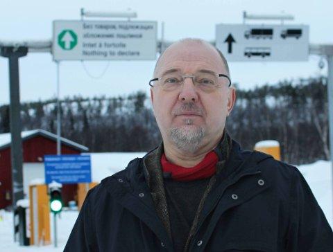 TRAGISK: Sør-Varanger-ordfører Rune Rafaelsensier det er tragisk at det ikke kom penger til en ny grensestasjon ved Storskog.