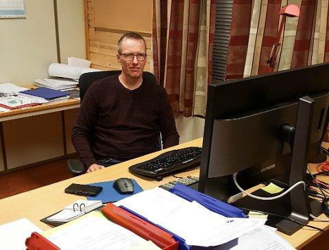 RÅDMANN: Trond Henriksen vet ikke hvorfor jubileet til kommunen ikke ble feiret på selve dagen.