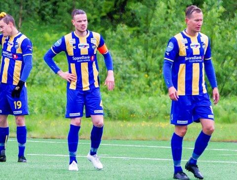 TAPTE: Alta IFs kaptein Mats Frede Hansen spilte sin 200 kamp for Alta IF. Stopperen fra Sør-Varanger debuterte for Alta IF i 2012.