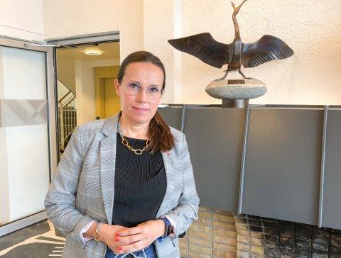 NYE SMITTETILFELLER SISTE DØGN: Ordfører Marianne Sivertsen Næss sa at det var påvist13 nye smittetilfeller siste døgn. Foto: Trond Ivar Lunga