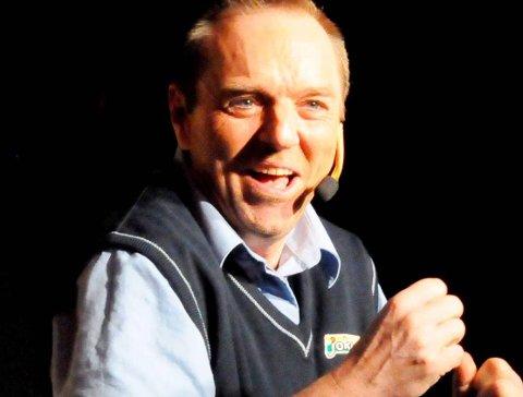 Positiv: Teater-nestor Henning Ringsby.foto: anita jacobsen