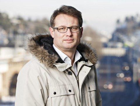 Sigmund Clementz er informasjonssjef i forsikringselskapet If.