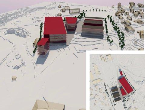 TOTALT 18.000 KVADRAT: Fibo Næringspark er navnet på det nye området som nå er lagt ut på det åpne markedet. Ill.: Vestfold Næringsutvikling